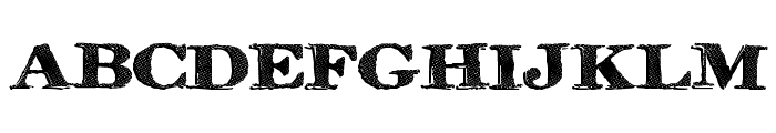 RinseWash Font UPPERCASE