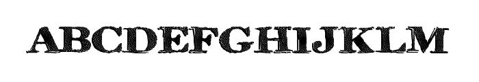 RinseWash Font LOWERCASE