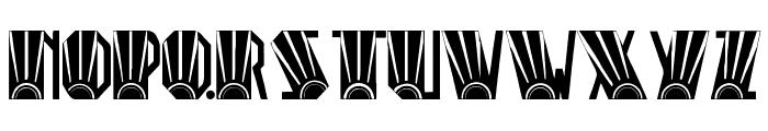 Rio Art Deco Font UPPERCASE