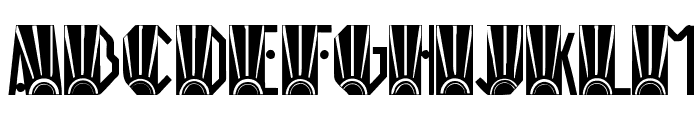 Rio Art Deco Font LOWERCASE
