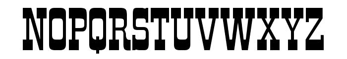 Rio Grande Regular Font UPPERCASE