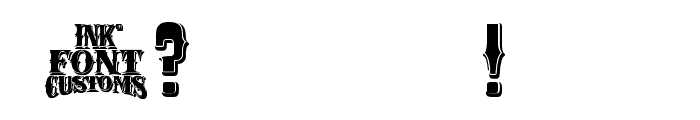 RioGrande Bold Font OTHER CHARS