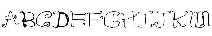 RiordonFancy Font UPPERCASE