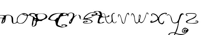 RiordonFancy Font LOWERCASE