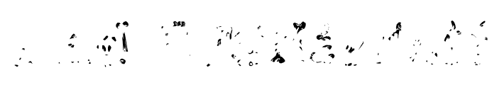 RiotActTwoGlop-Regular Font UPPERCASE