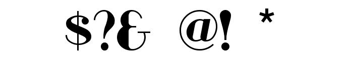 RiotSquad Font OTHER CHARS