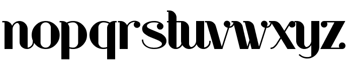 RiotSquad Font LOWERCASE