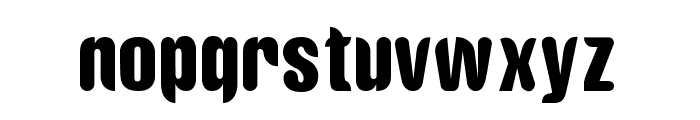 Riotun Font LOWERCASE