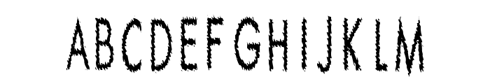 Ripple Crumb UltraCon Font LOWERCASE