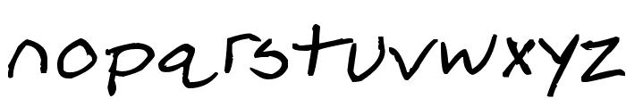 Ripple Font Font LOWERCASE