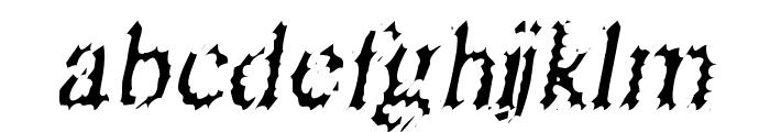 Riquoth Font LOWERCASE