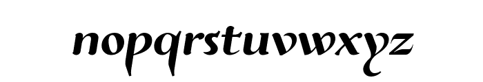 Risaltyp Font LOWERCASE