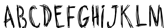 Riscada Doodle Font UPPERCASE