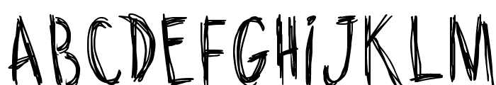 Riscada Doodle Font LOWERCASE
