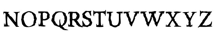 RiseInside-Regular Font UPPERCASE