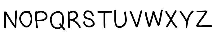 RiseStarHand-SemiBold Font UPPERCASE