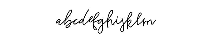 Rishangle Font LOWERCASE