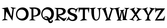 Risque Font UPPERCASE