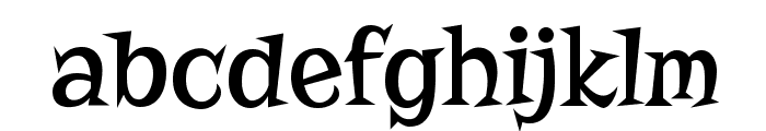Risque Font LOWERCASE