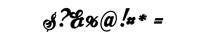 Ristella PERSONAL USE ONLY Font OTHER CHARS