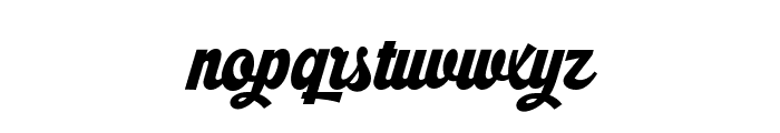 Ristella PERSONAL USE ONLY Font LOWERCASE