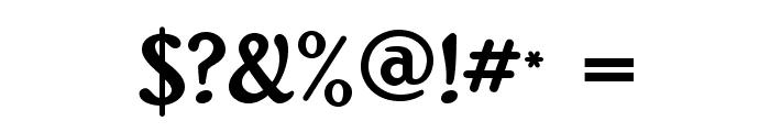RitaSmithAlt Font OTHER CHARS