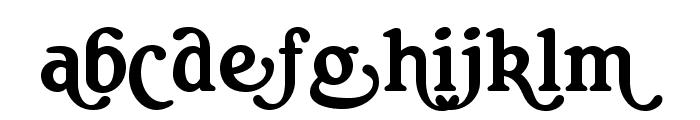 RitaSmithAlt Font LOWERCASE