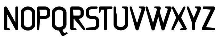 Ritalin ExtraBold Font UPPERCASE