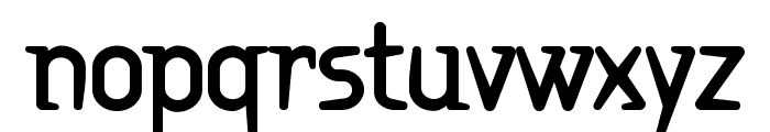 Ritalin ExtraBold Font LOWERCASE