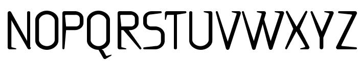 Ritalin Font UPPERCASE