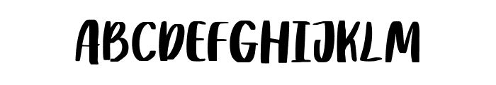 Rither Font UPPERCASE