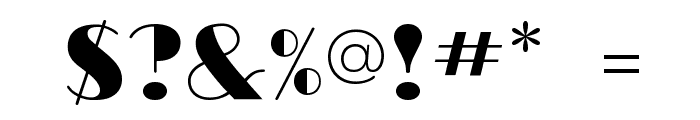 RitzFLF Font OTHER CHARS