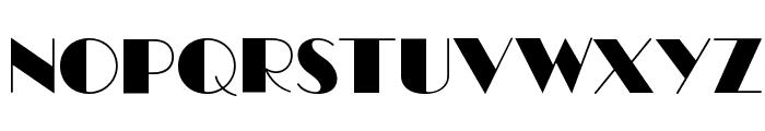 RitzFLF Font UPPERCASE