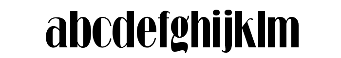 RitzFLFCond Font LOWERCASE