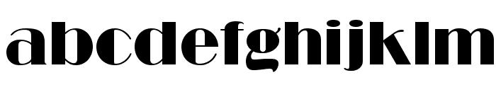 RitzFLF Font LOWERCASE