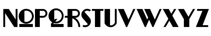 RitzyRemixNF Font LOWERCASE