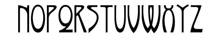 Rivanna NF Font LOWERCASE