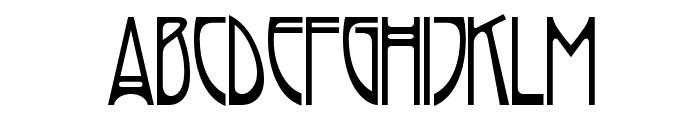 Rivanna Font LOWERCASE