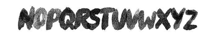 River Drive Font UPPERCASE