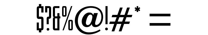 RiverOpti Font OTHER CHARS