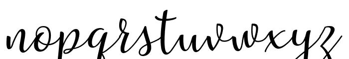 Riztteen Font LOWERCASE