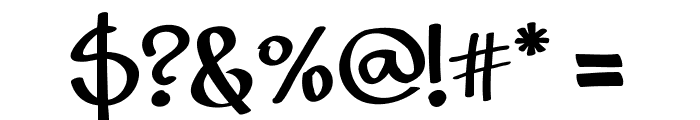 Rizzetto Script Font OTHER CHARS