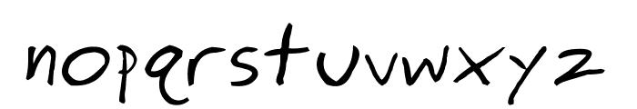 ringey Font LOWERCASE