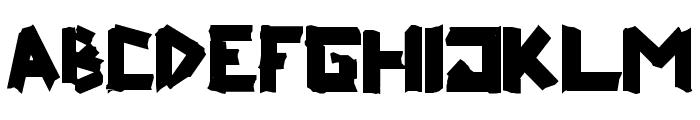 ripTAPE Fixed Font LOWERCASE
