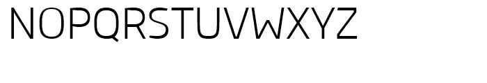 Ribera Light Font UPPERCASE