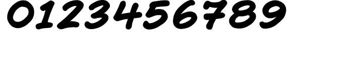 Richard Starkings Bold Italic Font OTHER CHARS