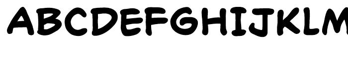 Richard Starkings Bold Font UPPERCASE