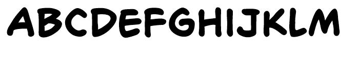 Richard Starkings Bold Font LOWERCASE