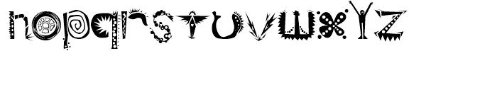 Ridicule Regular Font LOWERCASE