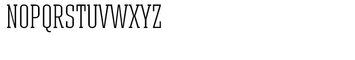 Ristretto Slab Light Font UPPERCASE
